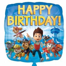 Palloncino Paw Patrol happy birthday