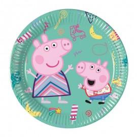 piatto piccolo Peppa Pig linea Messy