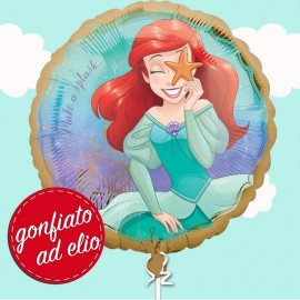palloncino di Ariel gonfiato ad elio