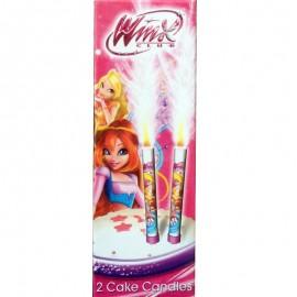 candele scintillanti Winx
