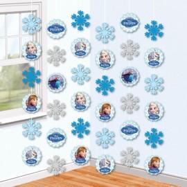 decorazioni stanza di Frozen