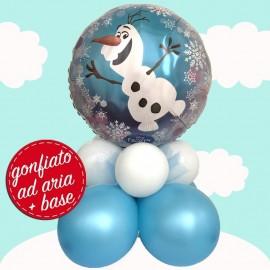 composizione palloncino Olaf
