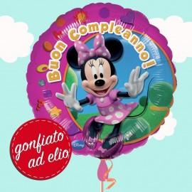 palloncino minnie buon compleanno ad elio