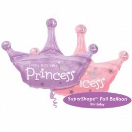 palloncino forma corona principessa