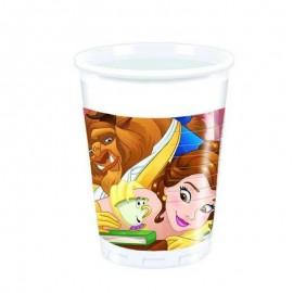 bicchieri di Belle e la bestia