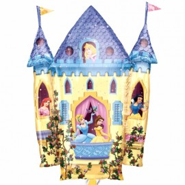 palloncino castello principesse