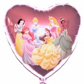 palloncino Disney principesse cuore