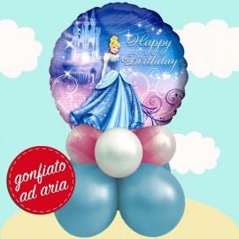 composizione palloncino Cenerentola festa