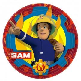 piatti Sam il Pompiere