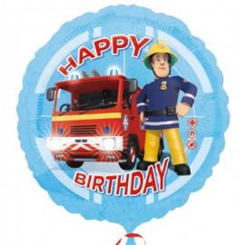 palloncino Sam Happy Birthday