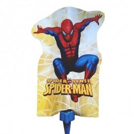 candela Spiderman scintillante