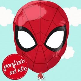 palloncino maschera Spiderman ad elio