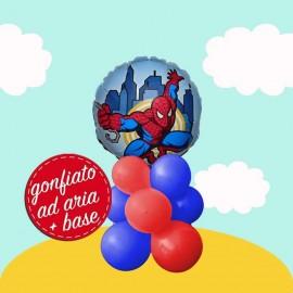 centrotavola palloncini Spiderman mini