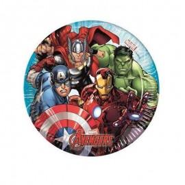 Avengers piattini piccoli pezzi 8