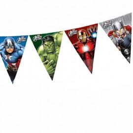 avengers bandierine super eroi