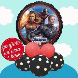 composizione palloncino Avengers endgame