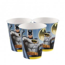 bicchieri Batman 8 pezzi