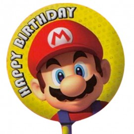 palloncino Mario Happy birthday