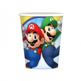 8 bicchieri super Mario