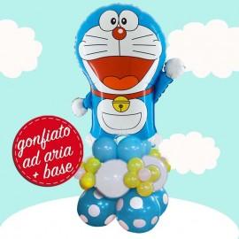 composizione palloncino Doraemon