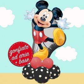 composizione palloncino festa Topolino