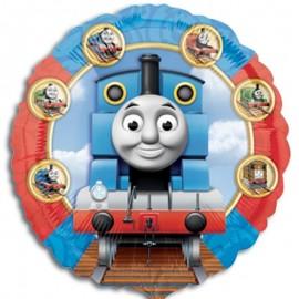 palloncino Thomas trenino rotondo mylar