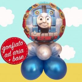 composizione palloncino trenino Thomas
