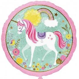 palloncino unicorno rotondo per feste