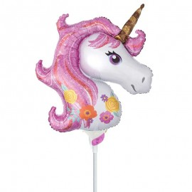palloncino unicorno mini shape