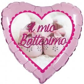 palloncino cuore il mio battesimo