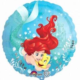palloncino Ariel che nuota