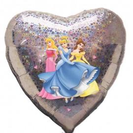 palloncino cuore delle principesse