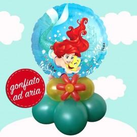 composizione con palloncini di Ariel