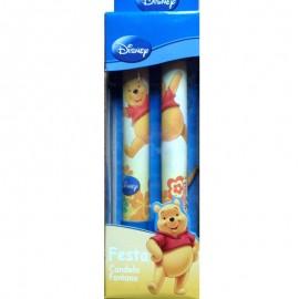 candele a fontana di Winnie Pooh