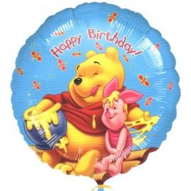 palloncino di Winnie con miele