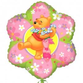 palloncino di Winnie a forma di fiore