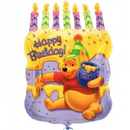 palloncino forma di torta di Winnie