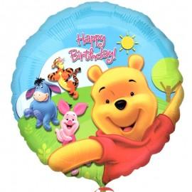 palloncino Winnie amici e sole
