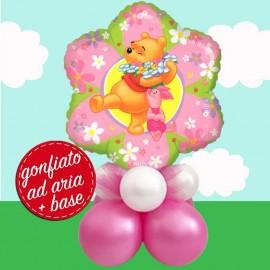 composizione Winnie  flower palloncino