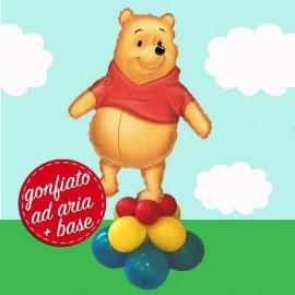 composizione palloncino Winnie grande