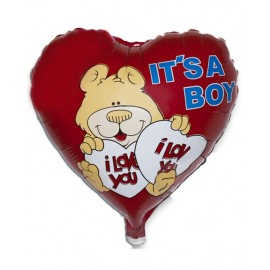 Palloncino cuore It's a Boy