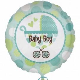 """Baby Boy Buggy Palloncino 18"""""""