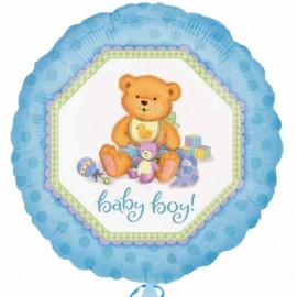 palloncino orsacchiotto baby boy - www.tommyparty.it
