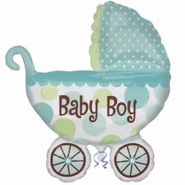 Palloncino Carrozzina Baby Boy s/shape