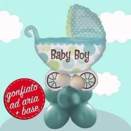 Composizione Carrozzina Baby palloncino