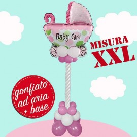 composizione Carrozzina Baby Girl Totem