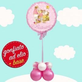 palloncino ad elio di baby bear nascita