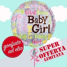 palloncino baby girl ad elio