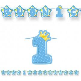 Festone Buon 1° compleanno...