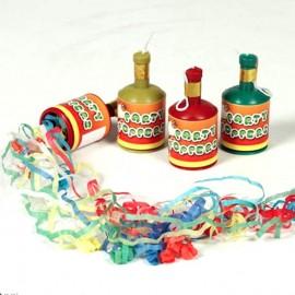 bottigliette lancia stelle filanti pezzi 12